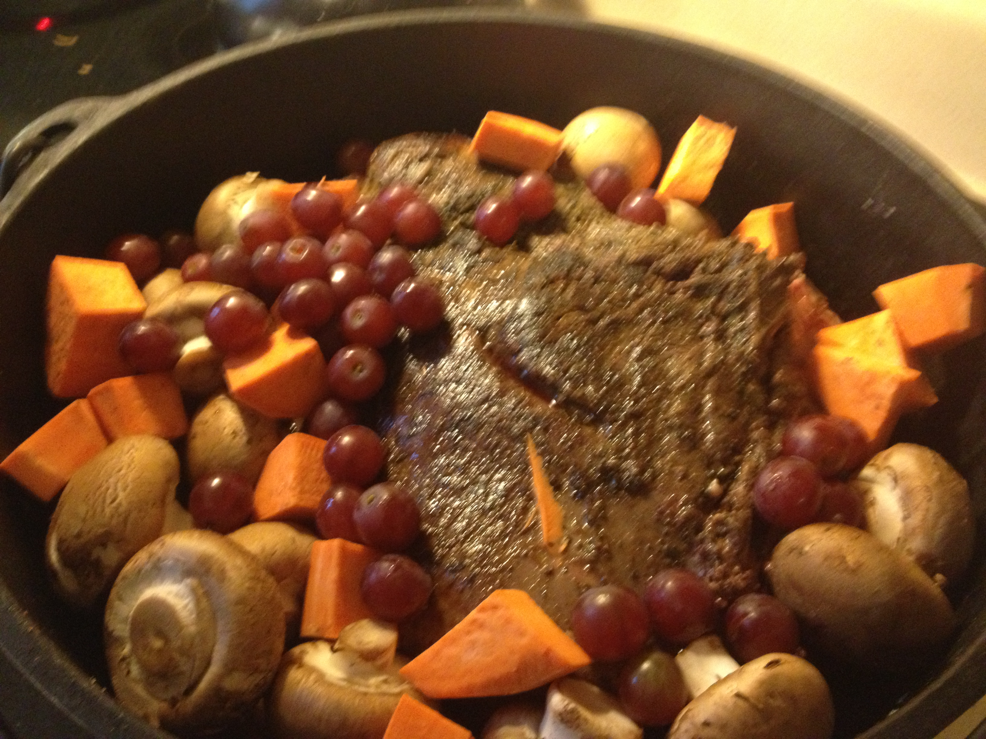 how to slow cook venison roast in oven